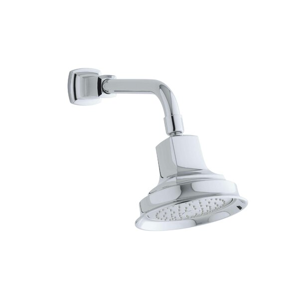 Margaux 2.5 GPM Single-Function Wall-Mount Showerhead with Katalyst Air-Induction Spray by Kohler