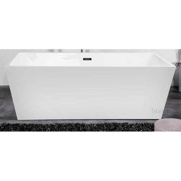 Luxury 32 x 67 Freestanding Soaking Bathtub by Luxier