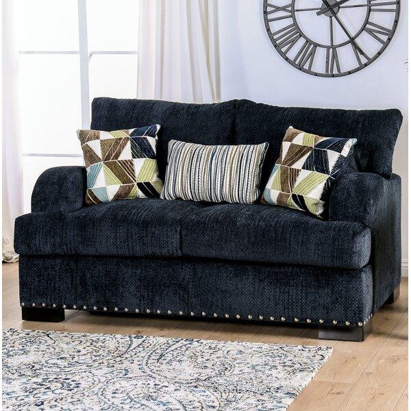 Rosemond T-Cushion Loveseat By Canora Grey