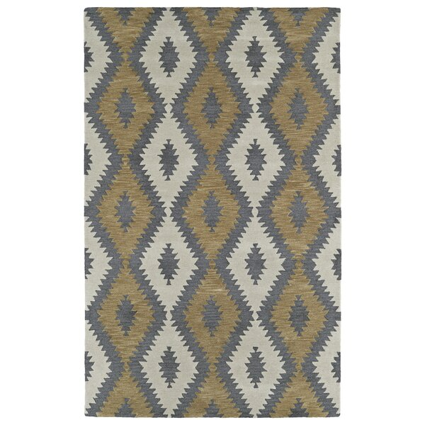 Hinton Charterhouse Hand-Tufted Camel Area Rug by Wrought Studio