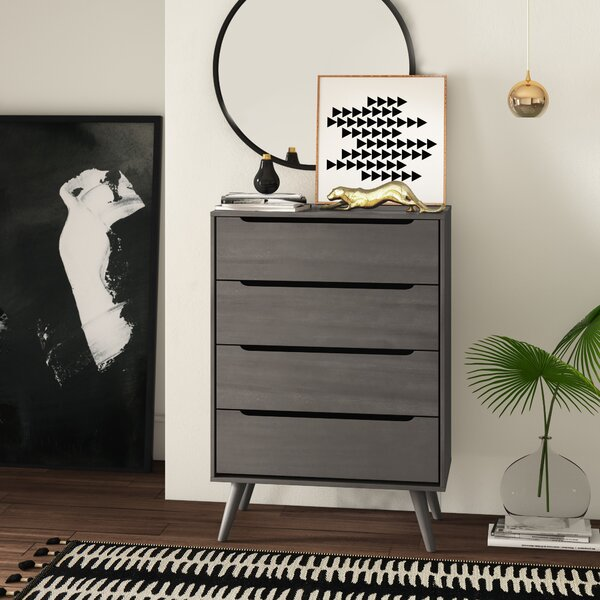 Mason 4 Drawer Chest by Mercury Row