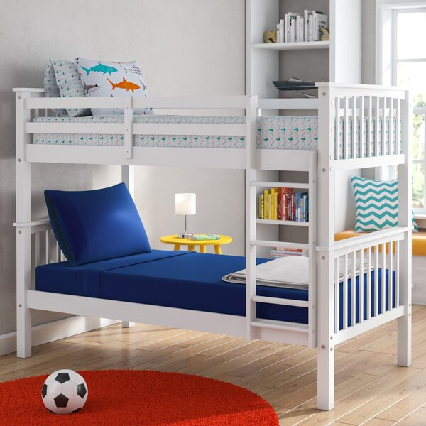 Shubert Alley Twin over Twin Bunk Bed by Harriet Bee
