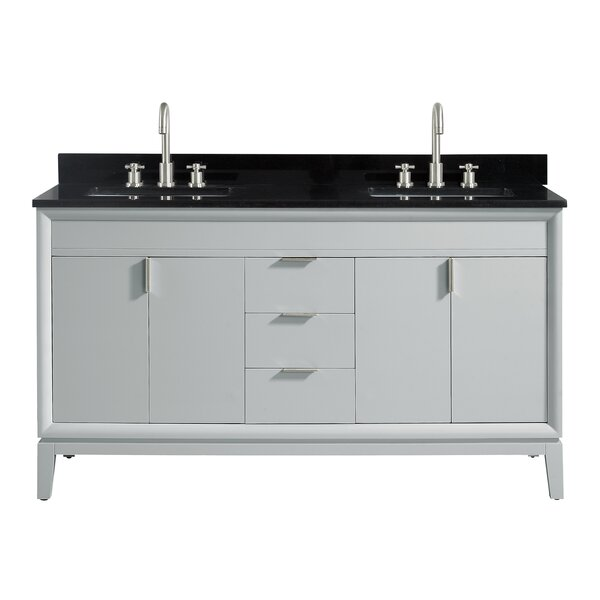 Schlesinger 60 Double Bathroom Vanity Set by Orren Ellis