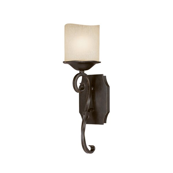 Montana 1-Light Wall Sconce in Raw Umber by Capital Lighting