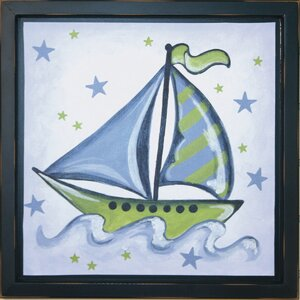 Boat Deco Framed Art by Renditions by Reesa