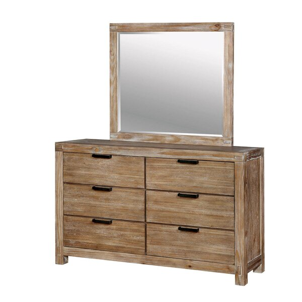 Benally 6 Drawer Double Dresser by Foundry Select