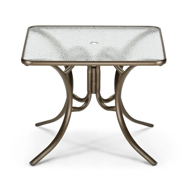 Obscure Aluminum Dining Table by Telescope Casual