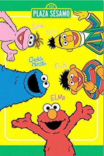 Elmo Amigos Blanket by Cozy Linen