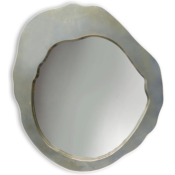 Frazer Glass Beveled Accent Mirror by Wrought Studio