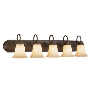 Buy clear 5-Light Vanity Light By Millennium Lighting