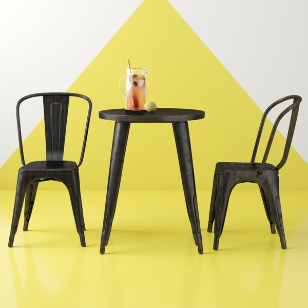 Ramona 3 Piece Dining Set by Hashtag Home