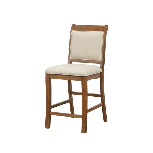 Gillham Birch Wood 24 Bar Stool (Set of 2) by August Grove