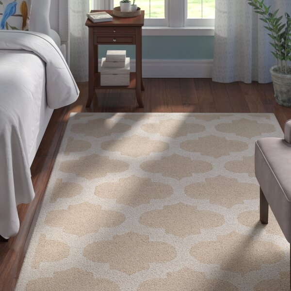 Boise Hand-Tufted Beige Area Rug by Andover Mills