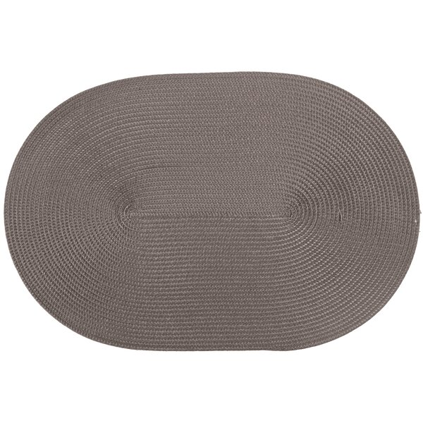 Ziczac Oval Placemat (Set of 6) by Tiseco