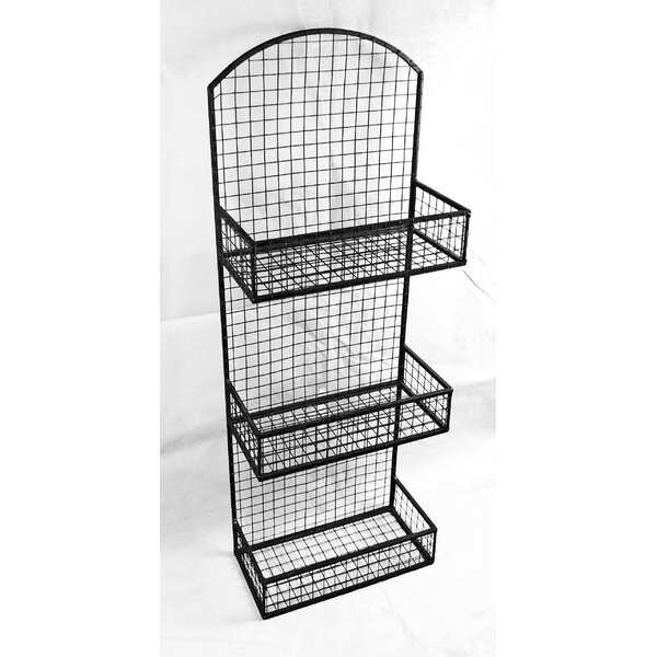 33 H x 12 W 3 Tier Hanging Wall Rack by GT DIRECT
