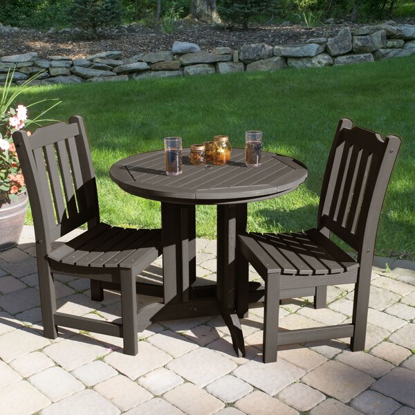 Amelia 3 Piece Bistro Set by Three Posts