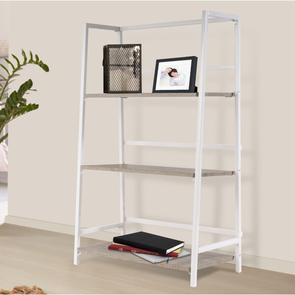 Albarado 3 Tier Folding Etagere Bookcase by Ebern Designs