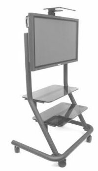 Mobile Carts, Stands & Accesories Video Conferencing Plasma AV Cart by Chief Manufacturing