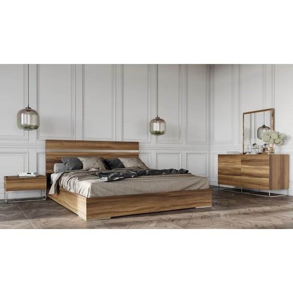 Kingon Platform 5 Piece Bedroom Set by Brayden Studio