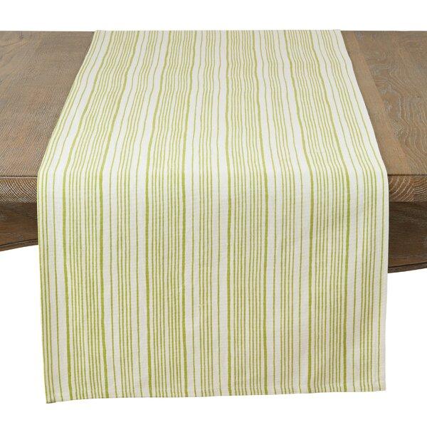 Ollie Modern Block Stripe Table Runner by Laurel Foundry Modern Farmhouse