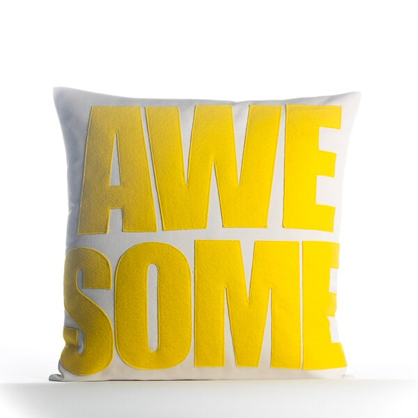Awesome Outdoor Throw Pillow by Alexandra Ferguson