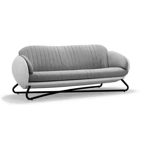 Circle Patio Sofa with Cushions by 100 Essentials