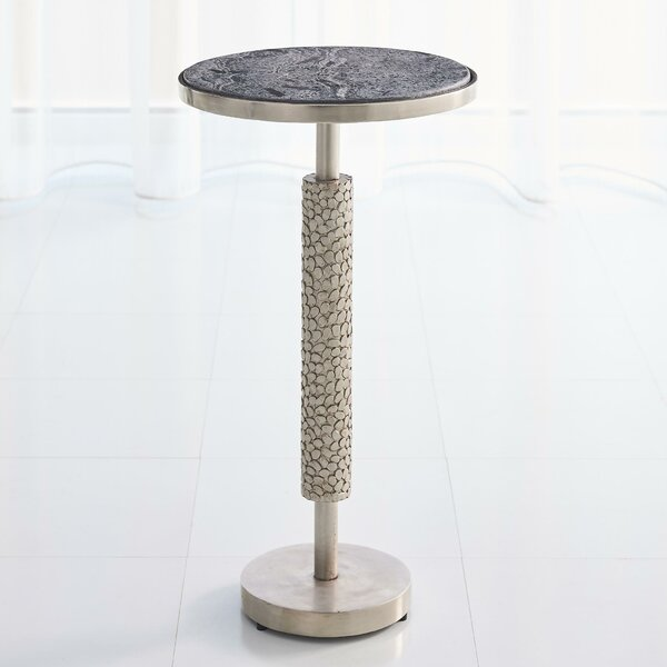 Hammered Martini End Table by Global Views Global Views