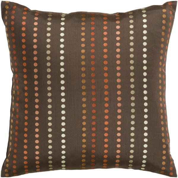 Joan Dots Throw Pillow Cover by Latitude Run