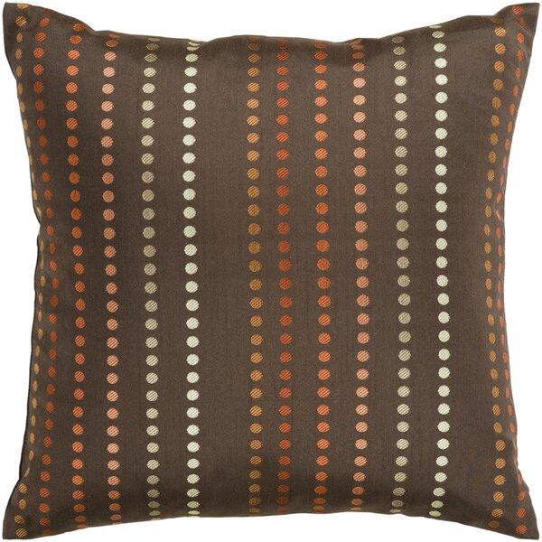 Joan Dots Throw Pillow Cover by Latitude Run