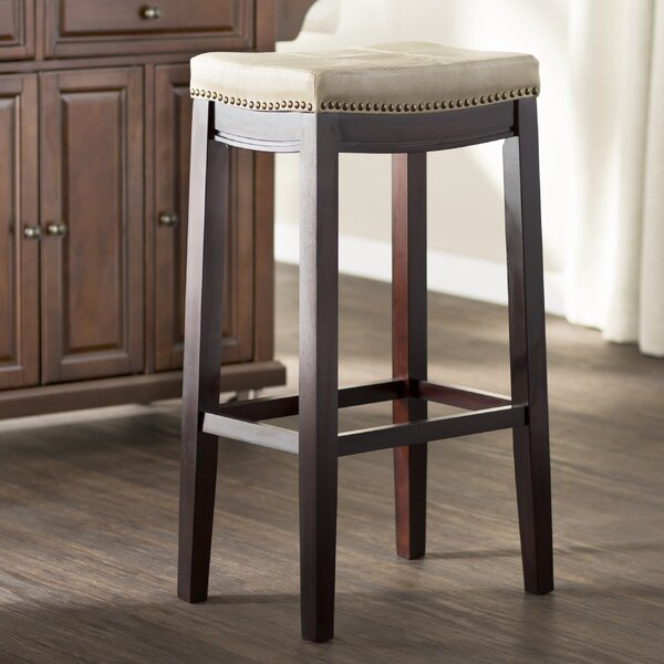 Russett 30 Bar Stool by Three Posts