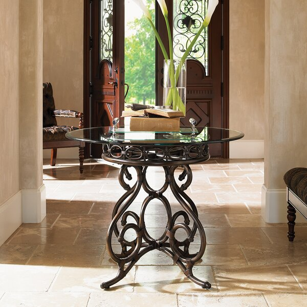 Capistrano Metal End Table by Tommy Bahama Home