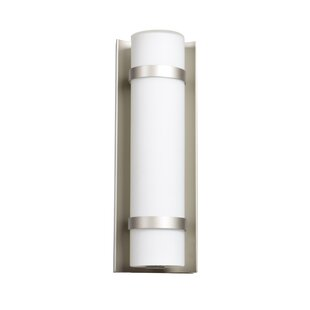 Inexpensive Deveral 1-Light LED Outdoor Wall Sconce By Orren Ellis