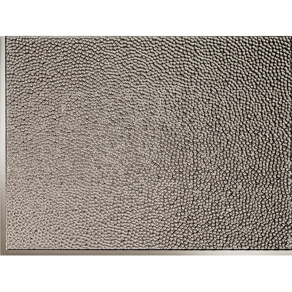 Strike Backsplash Wall Paneling 18 x 24 Field Tile in Brushed Nickel by MirroFlex