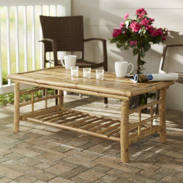 Josephine Solid Wood Coffee Table by Beachcrest Home