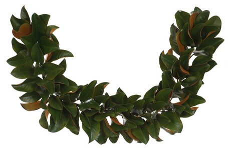 Magnolia Leaf Garland by Red Barrel Studio
