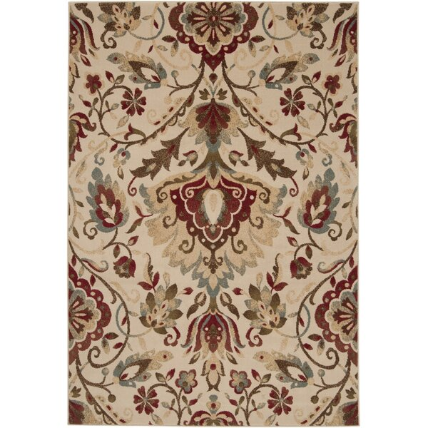 Acres Camel/Sienna Rug by Charlton Home