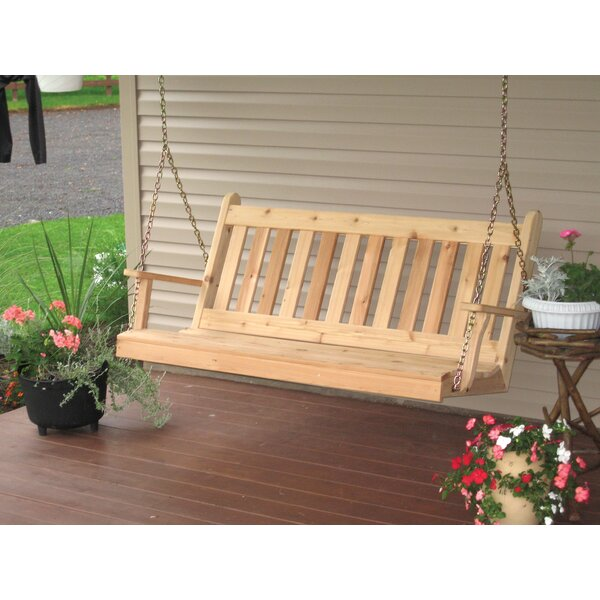 Wym Porch Swing by Millwood Pines Millwood Pines
