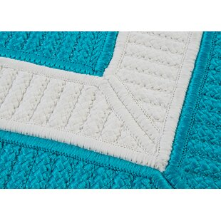 Great choice Kenton Blue Indoor/Outdoor Area Rug By Breakwater Bay