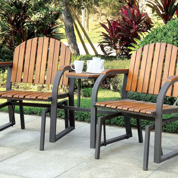 Germania Rocking 3 Piece Seating Group by Gracie Oaks