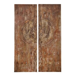 2 Piece Graphic Art on Wrapped Canvas Set by Cole & Grey