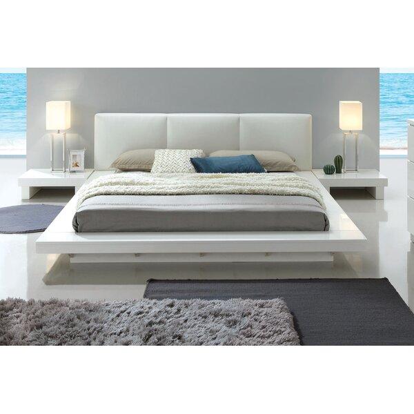 #2 Alayah Upholstered Platform Bed By Orren Ellis Cheap