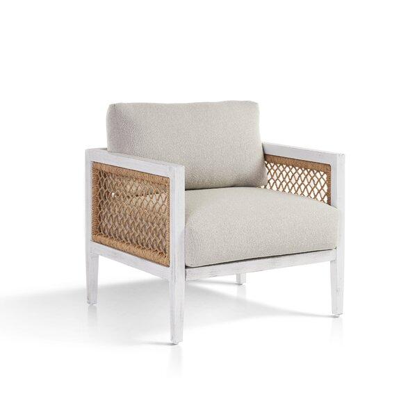 Bonnie Patio Chair with Sunbrella Cushions by Bayou Breeze