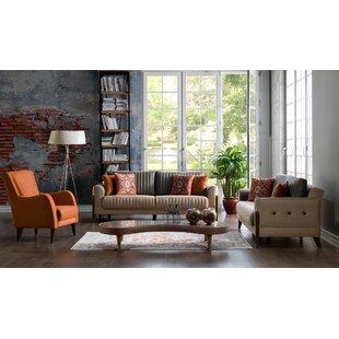 Roessler 2 Piece Living Room Set by Corrigan Studio®