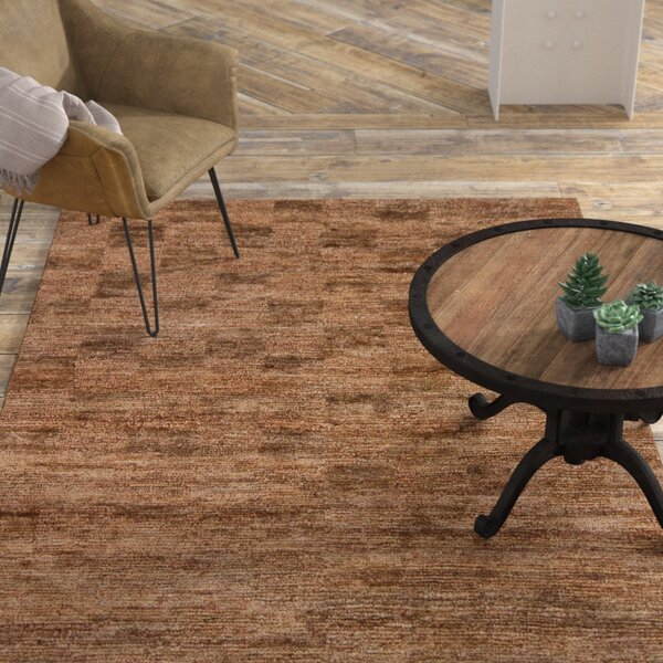 Gizem Brown Rug by 17 Stories