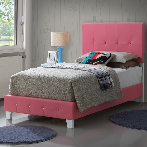 Dolly Twin Panel Bed by Viv + Rae