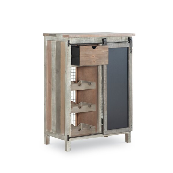 Midfield Wooden Bar with Wine Storage by Gracie Oaks