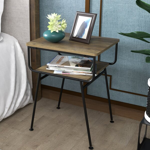 Specht End Table With Storage (Set Of 2) By Union Rustic