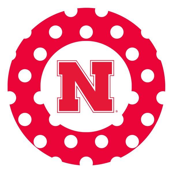 University of Nebraska Dots Collegiate Coaster (Set of 4) by Thirstystone