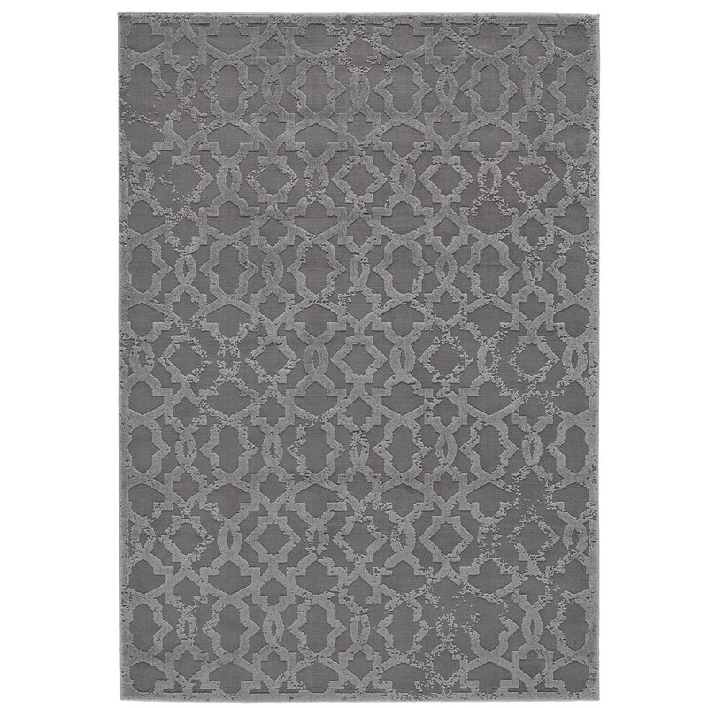Chevalier Silver Area Rug & Reviews | Joss & Main