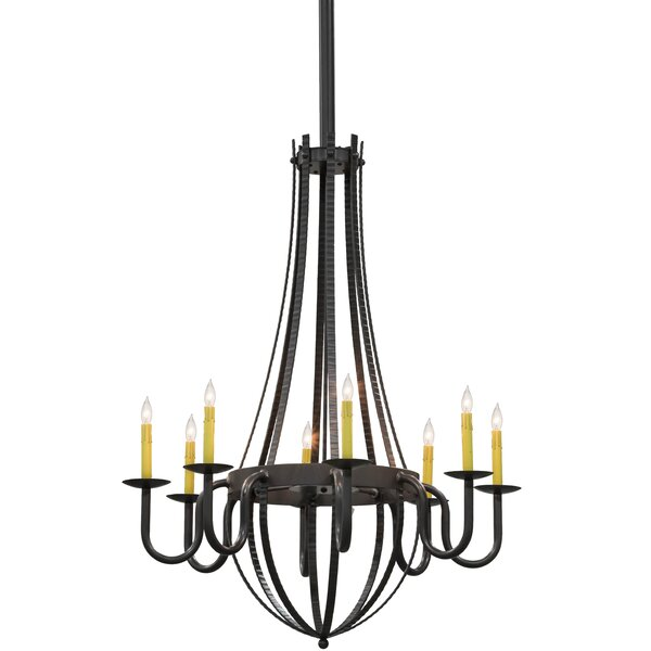 Gunnersbury 8 - Light Candle Style Empire Chandelier By Canora Grey